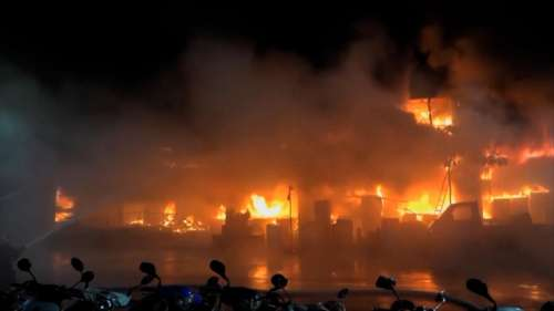 46 killed in Taiwan fire as the inferno burnt all night