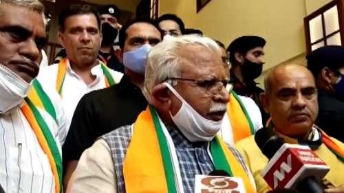'Obstructing official work against democracy': Haryana CM backs police action against farmers