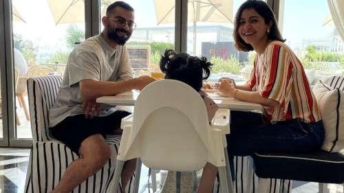 Anushka and Virat's breakfast with Vamika will brush away your Wednesday blues