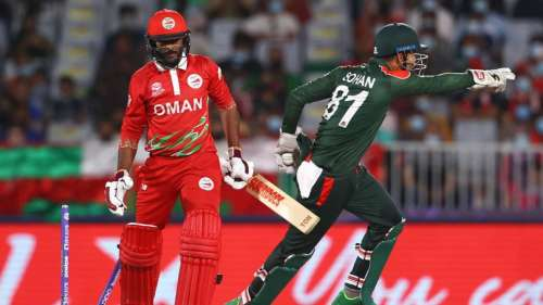 T20 World Cup 2021: Bangladesh avoid a loss vs Oman, fight to stay alive, full match highlights