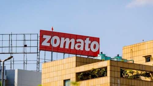 Zomato's sizzling listing!
