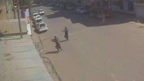 Terror on tape: CCTV captures attackers in Kandahar blast