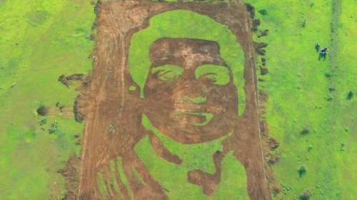 Watch viral video: On Sonu Sood's birthday, fan paints his 50,000 sq ft portrait as gift