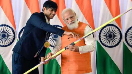 Neeraj Chopra's javelin set to get ₹1 crore at e-auction, to fund efforts in cleaning Ganga