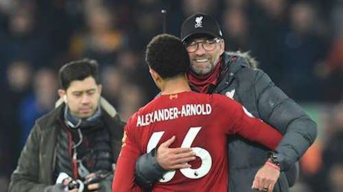EPL: Liverpool finish the year with a 13-point lead at the top