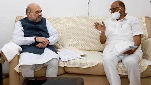 Pawar meets Shah: दोनों नेताओं के बीच हुई बैठक के बाद अटकलें तेज, नए राजनीतिक समीकरणों के कयास