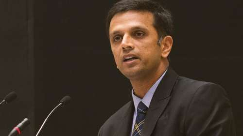 Dravid in a new role