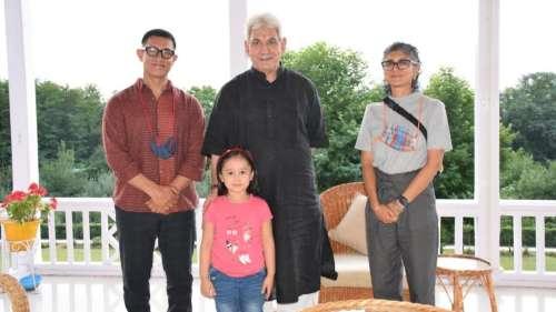 Aamir Khan,Kiran Raomet J&K Lt Gov Manoj Sinha, here's why