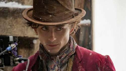 Timothée Chalamet reveals first look as young Willy Wonka: 'Suspense is terrible'