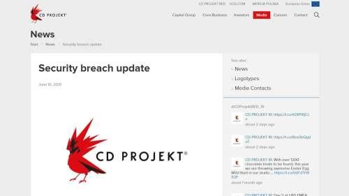 CD Projekt Red still struggling to recover from February data breach