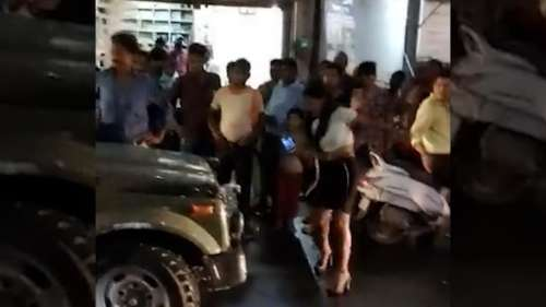 Caught on video: 22-year-old model vs army in Madhya Pradesh's Gwalior