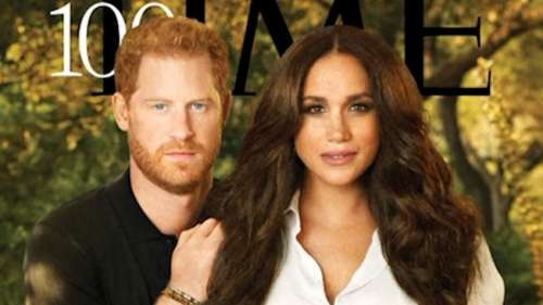 Meghan and Harry's Time Magazine cover called out for looking too 'CGI'