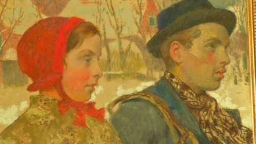 Painting looted by Nazis returned to Jewish family after 87 years