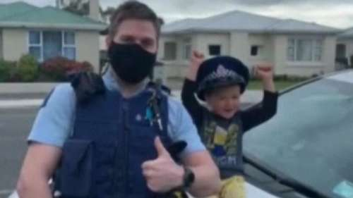 New Zealand: 4-year-old boy's conversation with police will melt your heart