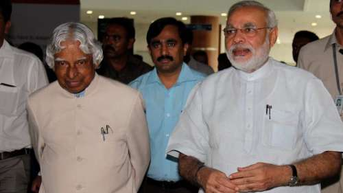 Prime Minister Modi remembers former President APJ Abdul Kalam on his 90th birthday