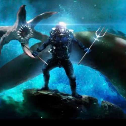 DC FanDome   Closer look at Aquaman's blue stealth suit in BTS reel of new film