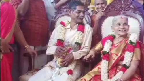 Kerala couple falls in love at old age home, ties the knot