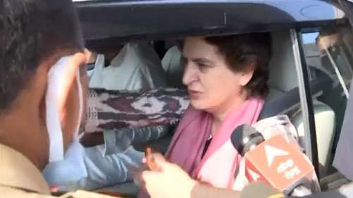 UP Election 2022: Priyanka Gandhi allowed to visit Agra after being detained