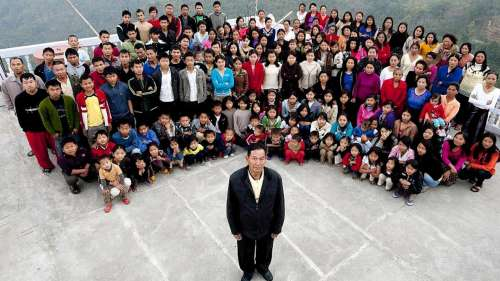 Mizoram man with 38 wives, 89 kids dies at the age 76