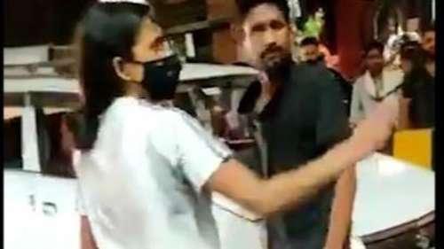 Viral Video: लखनऊ में एक लड़की की दबंगई, Cab Driver की बीच सड़क कर दी थप्पड़ों से पिटाई