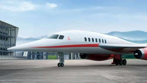 This supersonic jet could fly from LA to Tokyo in just about three hours!