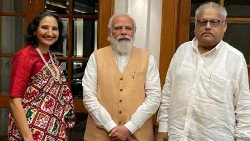 PM Modi meets big bull Rakesh Jhunjhunwala, find out more