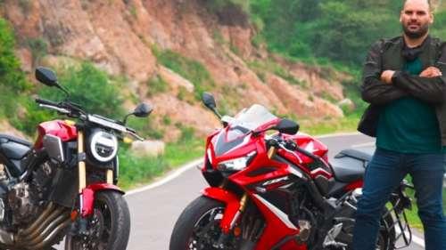2021 Honda CB650R & CBR650R