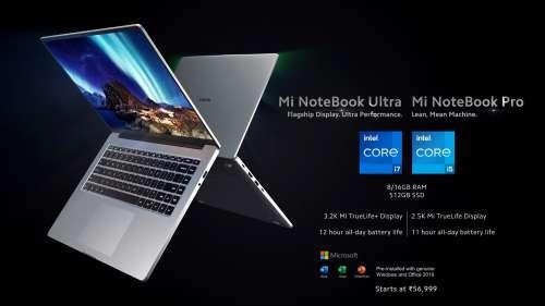Xiaomi's Mi Notebook Ultra, Mi Notebook Pro laptops go on sale in India