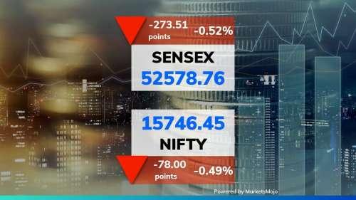 Share Market, Tuesday: वैश्विक बिकवाली का बुरा असर, Sensex और Nifty गिरावट के साथ बंद