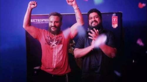 'Adipurush': Saif Ali Khan wraps filming, Director Om Raut shares pictures