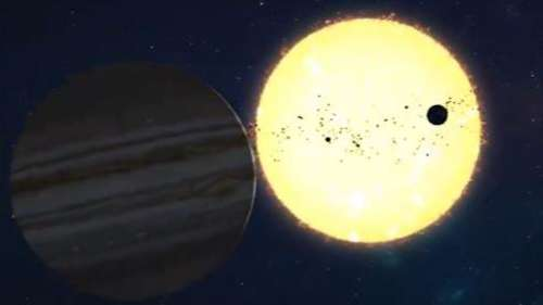 Water on Jupiter's moon