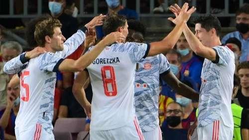 Champions League: Muller & Lewandowski power Bayern Munich to a 3-0 win vs Barcelona