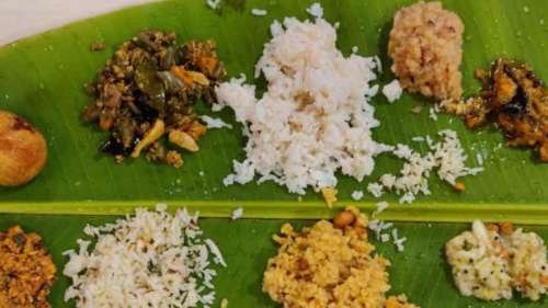Organic food for devotees