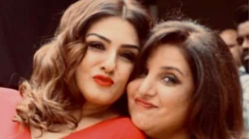 Another case of 'hurting sentiments' filed against Raveena, Farah