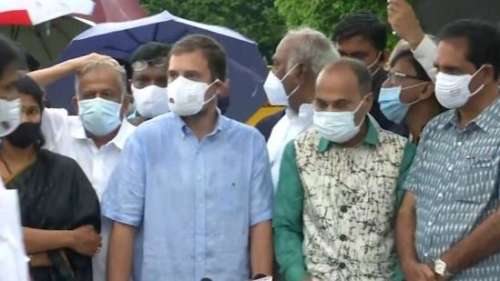 Pegasus snooping row: Rahul leads united opposition attack on Modi govt