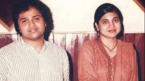 Himesh Reshammiya,Alka Yagnik'sold photogoes viral