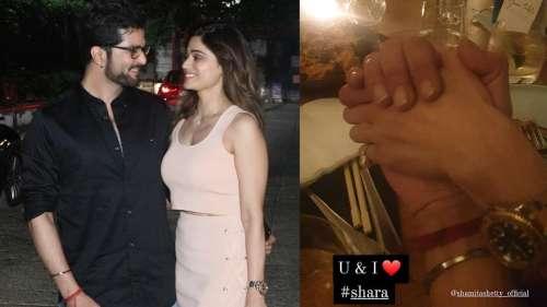 Raqesh Bapat, Shamita Shetty make their romance Instagram official with dinner date photo