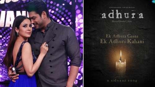 Shenaaz Gill and Sidharth Shukla's music video 'Adhura' drops October 21