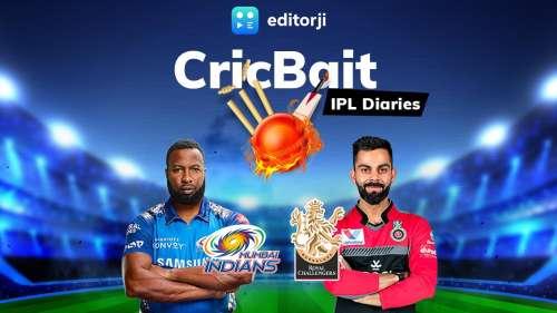 CricBait IPL Diaries | RCB vs MI: The Heavyweight bout
