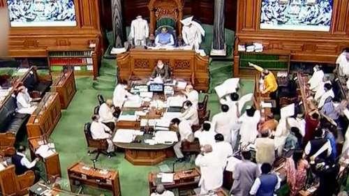 Ruckus in Rajya Sabha and Lok Sabha over Pegasus row, both houses adjourned