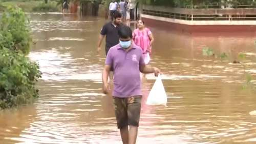 Goa sees worst floods in decades, almost 1000 homes damaged, hundreds evacuated