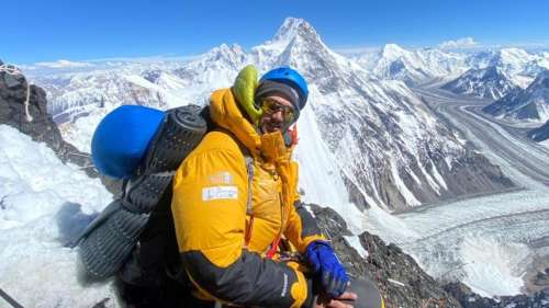 Youngest to summit K2