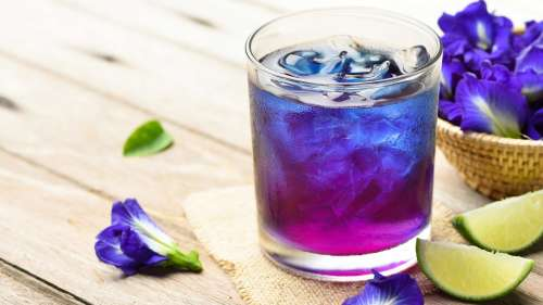 Blue Tea is the in-thing now