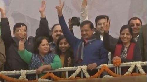 दिल्ली में चली आप की आंधी... मिलीं 62 सीटें तो BJP 8 पर सिमटी
