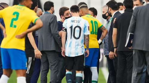 Argentina-Brazil football game called off after some players break Covid protocol