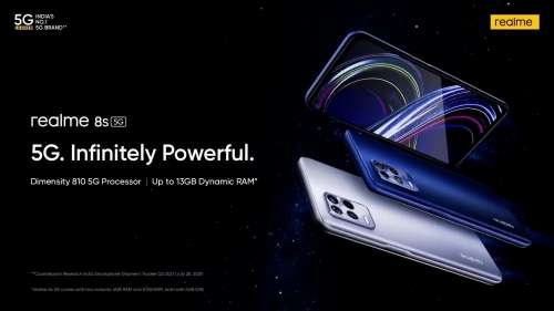 Realme 8s smartphone goes on sale in India: check price, specs