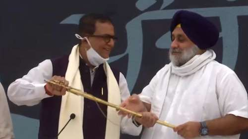 Akali Dal and BSP announce tie-up ahead of Punjab polls