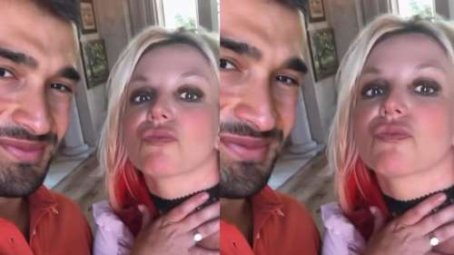 Britney Spears is engaged to her boyfriend Sam Asghari, posts photo of ring