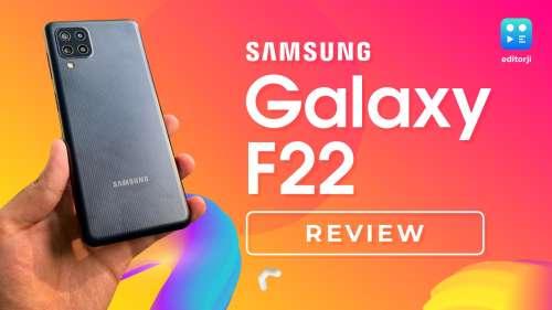 Samsung Galaxy F22 Review: 90Hz sAMOLED at ₹12,499