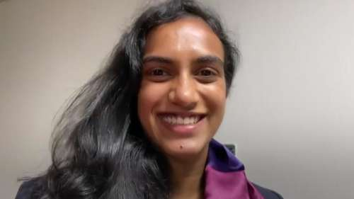 Tokyo Olympics 2020: Ace shuttler PV Sindhu arrives home to a rousing welcome